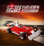 XINGBAO Dream Car Series XB-03023 The Red Power Racing Car Set Building Blocks Bricks Toys Model - Your World of Building Blocks