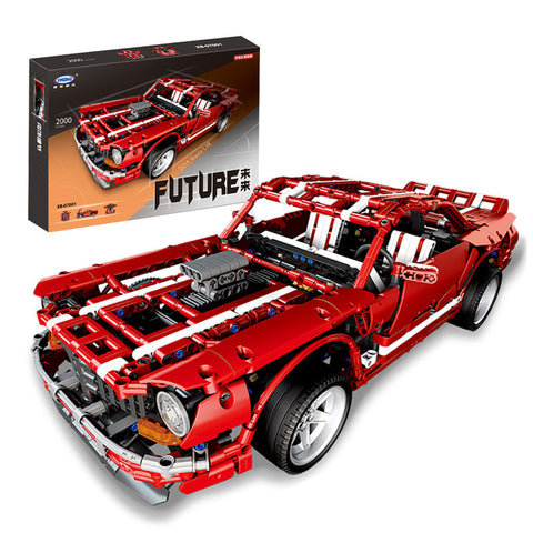 XINGBAO Technic Dream Car Series XB-07001 The 2014 Muscle Car Set Building Blocks Bricks Toys Model - Your World of Building Blocks