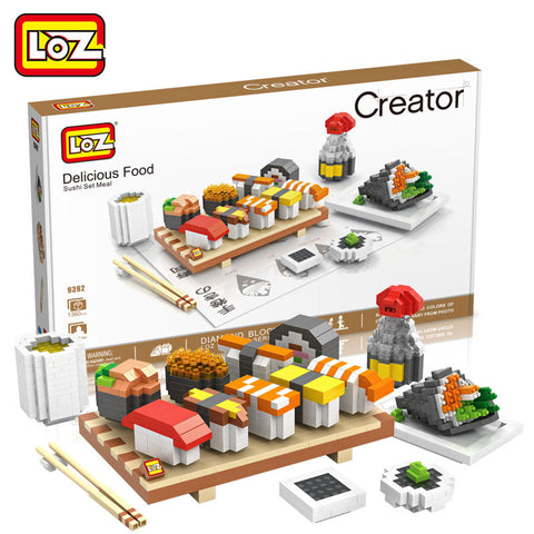 LOZ 9392 Sushi - Your World of Building Blocks