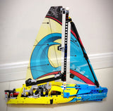 DECOOL 3374 2 In 1 Sailboat Rowin - Your World of Building Blocks
