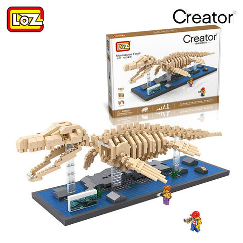 LOZ 9024 Mosasaurus Fossil - Your World of Building Blocks