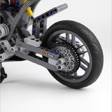 DECOOL 3353 Motorbike Motorcycle - Your World of Building Blocks