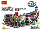 DECOOL 1114~1119 Mini City 6 IN 1 - Your World of Building Blocks