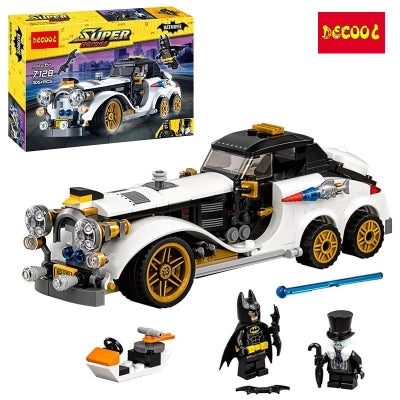 DECOOL 7128 Batman Classic Race Truck Car - Your World of Building Blocks