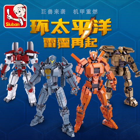 SLUBAN M38-B0726 A-D Pacific Rim - Your World of Building Blocks