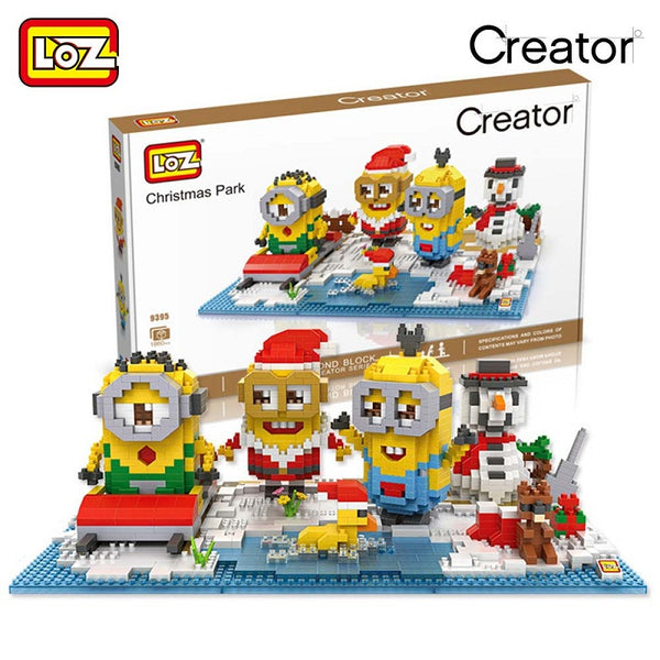 LOZ 9395 Minion - Your World of Building Blocks