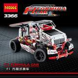 DECOOL 3366 2 In 1 F1 Formula Racing Car - Your World of Building Blocks