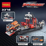 DECOOL 3376 2 In 1 Air cushion ferry - Your World of Building Blocks