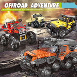 XINGBAO Dream Car Series XB-03027 The All Terrain Vehicle Set Building Blocks Bricks Toys - Your World of Building Blocks