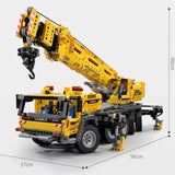 Mould King 13107 RC Mobile Crane Mk II - Your World of Building Blocks