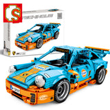 SEMBO 701502 Blue Super Racing Car - Your World of Building Blocks