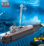 KAZI KY 84028 A-Submarine with Sound and Light - Your World of Building Blocks