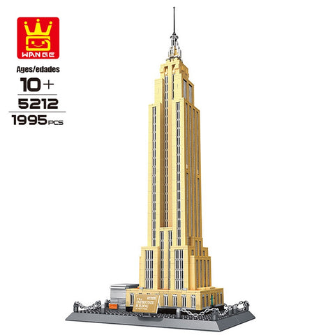 WANGE 5212 New York Empire State - Your World of Building Blocks