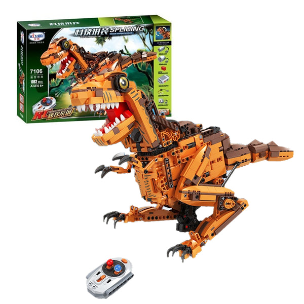 WINNER 7106 RC Dinosaur with lights and sound