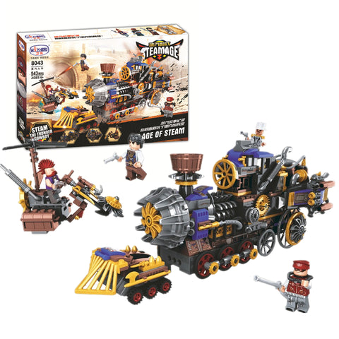 WINNER 8043 the Steam Train - Your World of Building Blocks