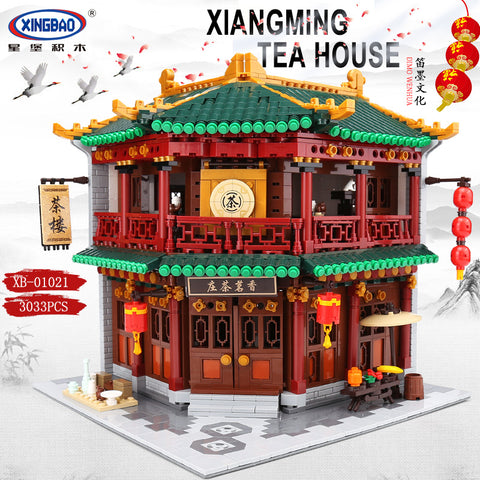 XINGBAO XB-01021 The Toon Tea House - Your World of Building Blocks