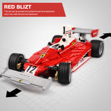 XINGBAO XB-03023 The Red Power Racing Car - Your World of Building Blocks