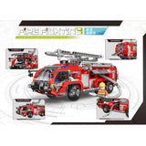 XINGBAO XB-03028 The Airport Fire Truck - Your World of Building Blocks