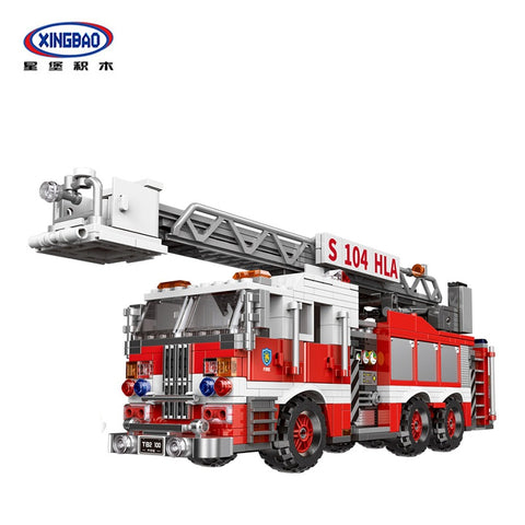XINGBAO XB-03031 The Aerial Ladder Fire Truck - Your World of Building Blocks