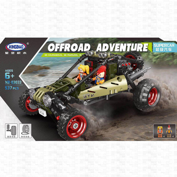 XINGBAO XB-03033 The Off-road Car - Your World of Building Blocks