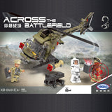 XINGBAO Military Series XB-06013 The Fighting Helicopter Set Building Blocks Bricks Toys Model - Your World of Building Blocks