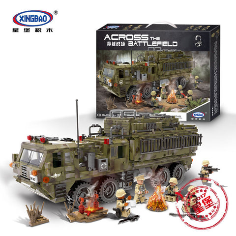 XINGBAO XB-06014 The Scorpion Heavy Truck - Your World of Building Blocks