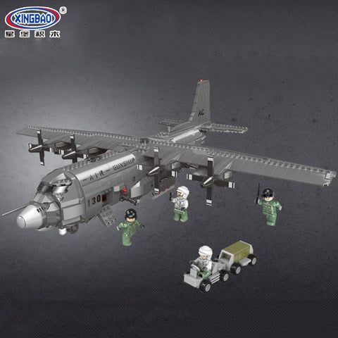 XINGBAO XB-06023 The AC130 Aerial Gunboat - Your World of Building Blocks