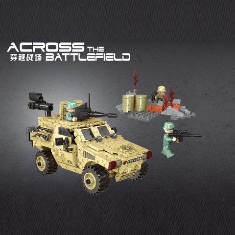 XINGBAO XB-06024 The Wheeled Armored Vehicle - Your World of Building Blocks