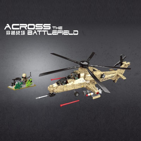 XINGBAO XB-06025 The WZ10 Helicopter - Your World of Building Blocks