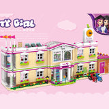 XINGBAO Girls Series XB-12001 The Happy Teaching Building Set Building Blocks Bricks Toys Model - Your World of Building Blocks