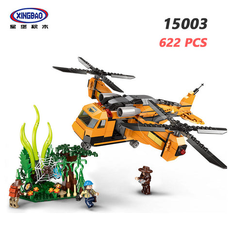 XINGBAO XB-15003 Fall Into The Jungle - Your World of Building Blocks