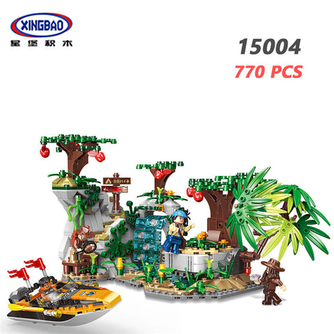 XINGBAO XB-15004 Explore The Stones - Your World of Building Blocks