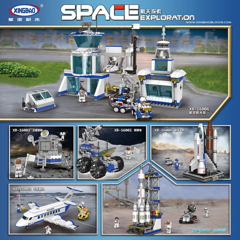 XINGBAO XB-16001-16006 Space Exploration Series - Your World of Building Blocks