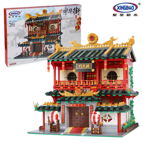 XINGBAO XB-01004 The Chinese Martial Arts - Your World of Building Blocks