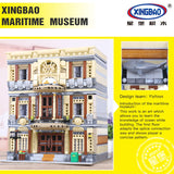 XINGBAO Building Series XB-01005 The Maritime Museum Set Building Blocks Bricks Toys Model - Your World of Building Blocks