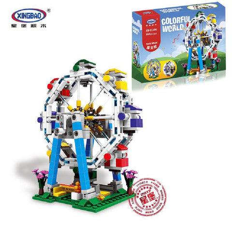 XINGBAO XB-01106 The Ferris Wheel Set - Your World of Building Blocks