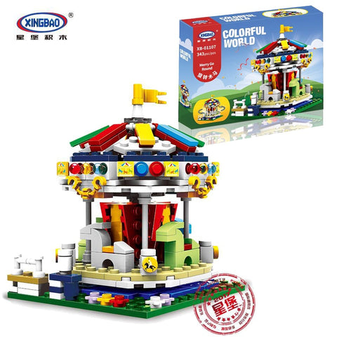 XINGBAO XB-01107 The Merry Go Round - Your World of Building Blocks