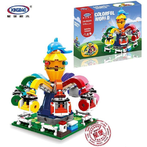 XINGBAO City Series XB-01108 The Spinning Octopus Set Building Blocks Bricks Toys Model - Your World of Building Blocks