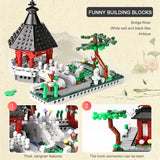 XINGBAO XB-01110 Chinese Style 6 in 1 Chinese Suzhou Garden - Your World of Building Blocks