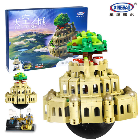XINGBAO Movie Series XB-05001 The City in The Sky Set Building Blocks Bricks Toys Model - Your World of Building Blocks