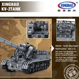 XINGBAO Military Series XB-06001 The T92 Tank Set Building Blocks Bricks Toys Model - Your World of Building Blocks