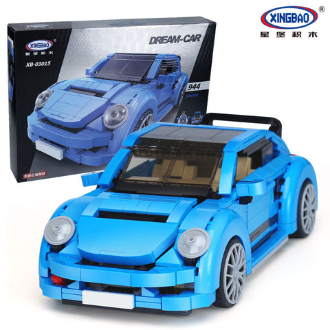 XINGBAO Dream Car Series XB-03015 The Beetle Car Set Building Blocks Bricks Toys Model - Your World of Building Blocks