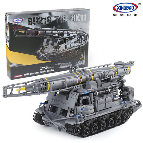 XINGBAO XB-06005 The 8U218 TEL 8K11 Tank - Your World of Building Blocks