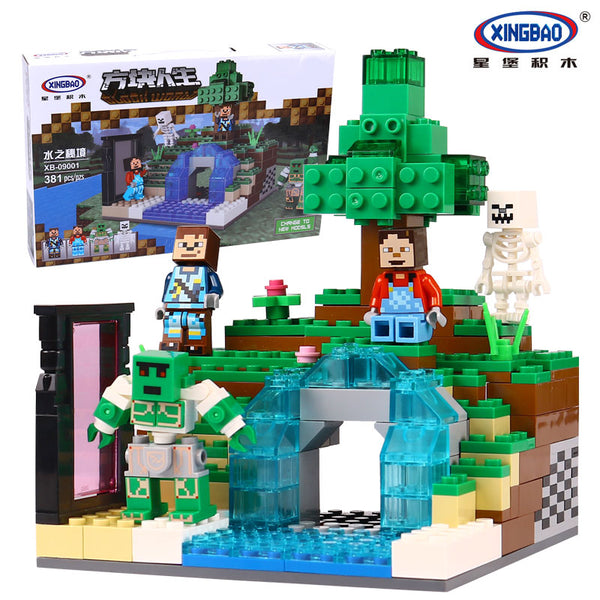 XINGBAO Minecraft Series XB-09001 The mysteries of water Set Building Blocks Bricks Toys - Your World of Building Blocks