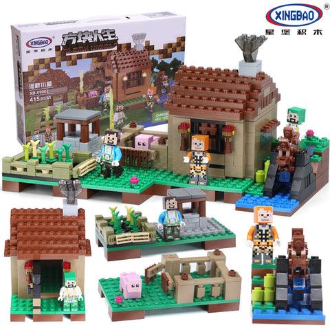 XINGBAO XB-09002 The Riverside Cottage - Your World of Building Blocks
