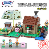 XINGBAO Minecraft Series XB-09002 The Riverside Cottage Set Building Blocks Bricks Toys Model - Your World of Building Blocks