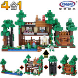 XINGBAO Minecraft Series XB-09003 The Mysteries of Base Set Building Blocks Bricks Toys Model - Your World of Building Blocks