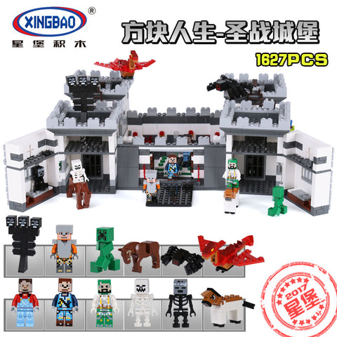 XINGBAO Minecraft Series XB-09005 The Castle of Holy War Set Building Blocks Bricks Toys - Your World of Building Blocks