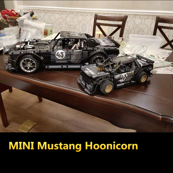 MOC 27623 MINI Ford Mustang Hoonicorn RTR - Your World of Building Blocks