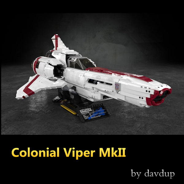 MOC 9424 Colonial Viper MkII - Your World of Building Blocks